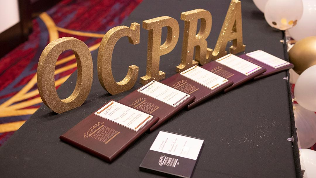 Office of Marketing & Communications wins six awards at the annual OCPRA conference.
