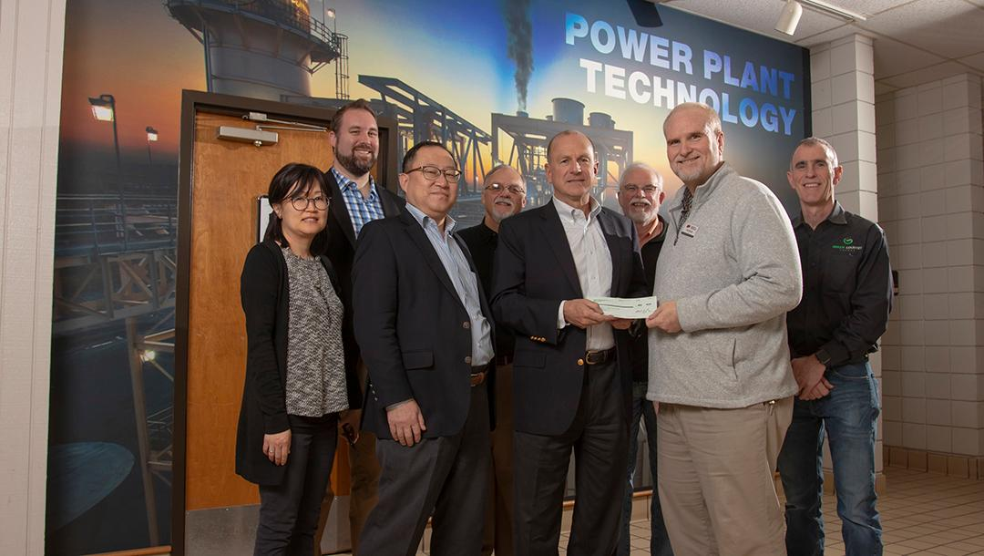 Green Country Energy Power Plant donated $4,000 to the Power Plant program.   This donation will help purchase educational training equipment and additional STEM training materials, fund student site visits, and aid curriculum development of the power plant simulator.