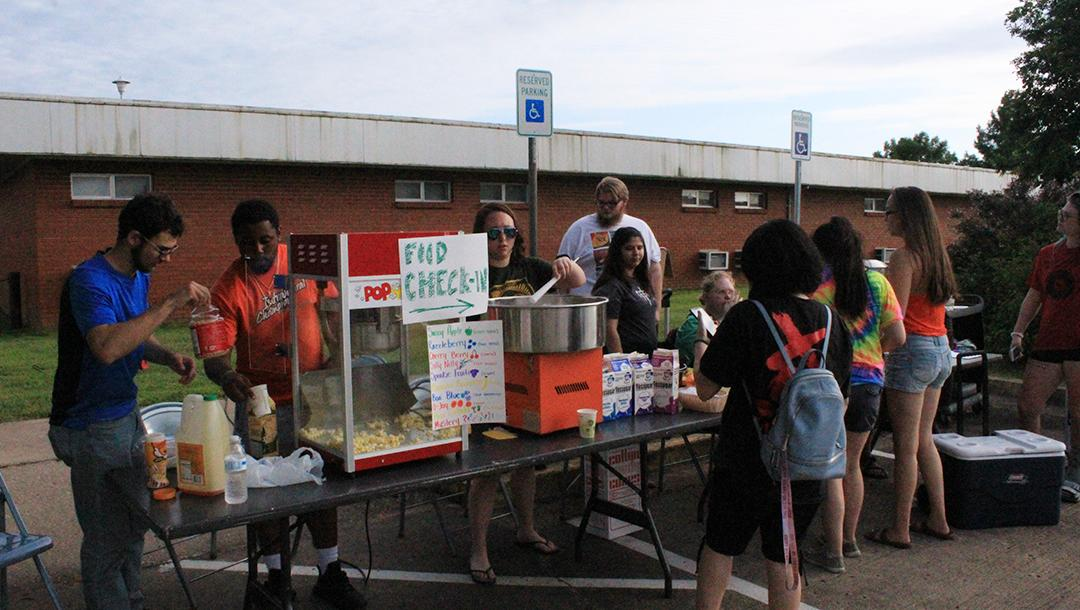 Students enjoyed food and fun at this year's summer bash
