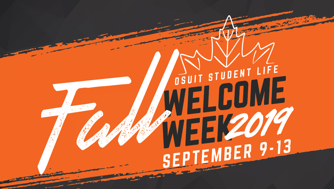 Student Life Welcomes New Students with a Week of Free Events Thursday, September 5, 2019