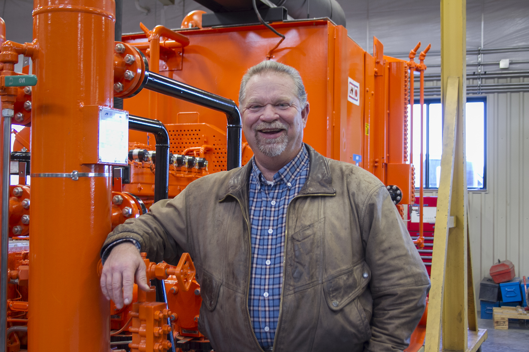 Natural Gas Compression instructor Pete Brown