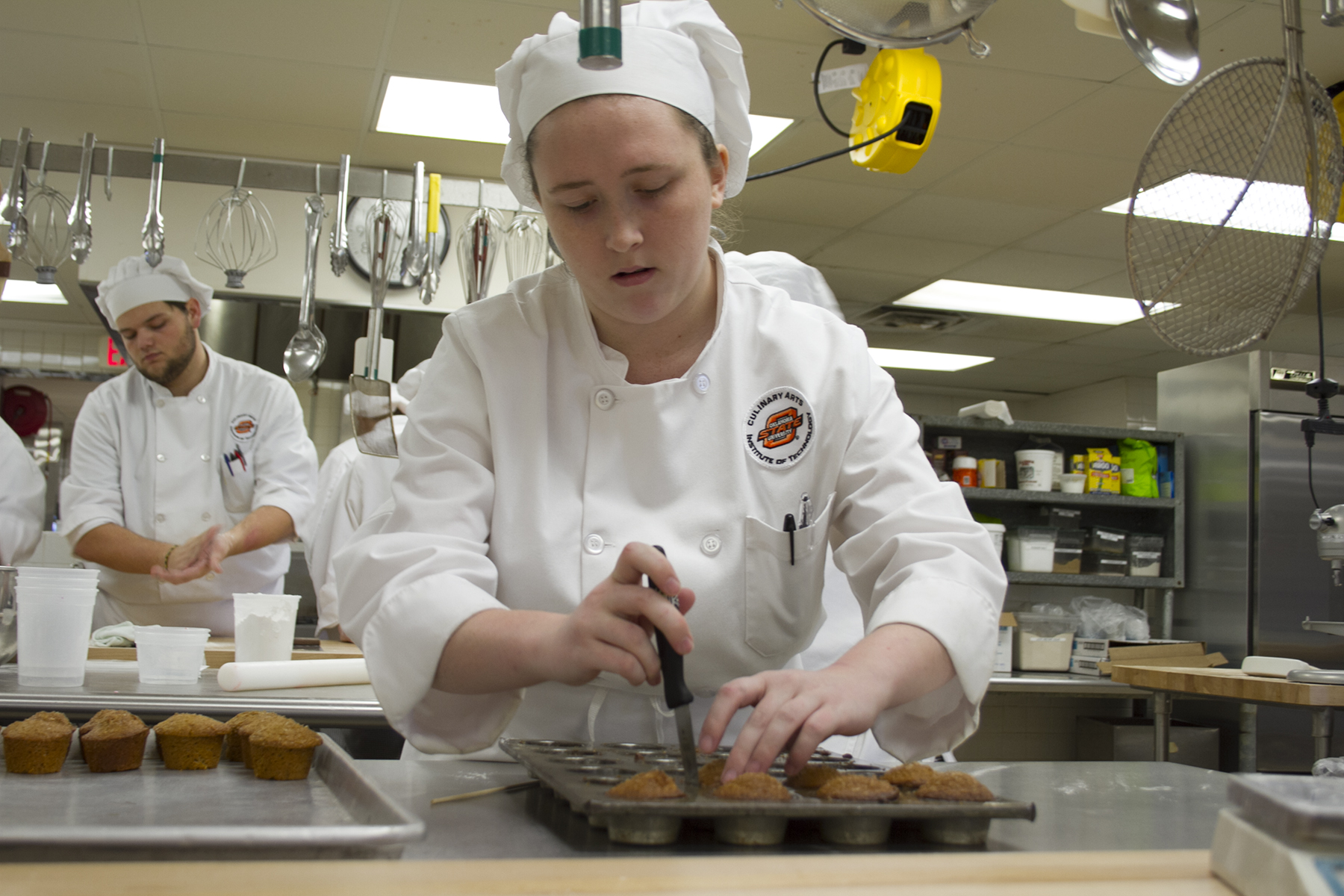 Culinary Class to Sell Baked Goods Out of State Room