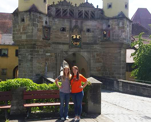 Two OSUIT Grads Experience Culture and Culinary Arts in Germany