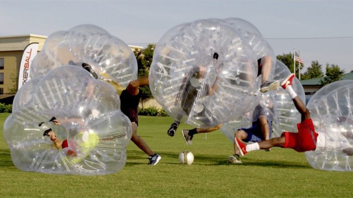 A game of Knockerball is played
