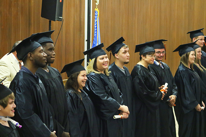 ABE Program Students Take Part in Graduation Ceremony at OSUIT