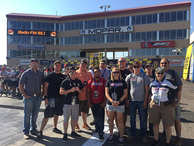 Pro-Tech Students Get Taste of Racing Pit Crew Life on Trip
