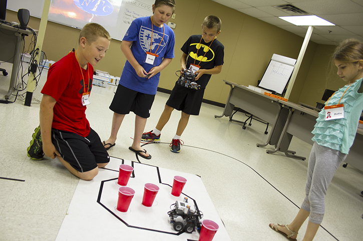 More Than Blocks: OSUIT-MAIP Hosts 13th Annual LEGO Robotics Camp