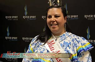 Student Rachael Sourjohn Reconnects with Heritage, Crowned Miss Muscogee Creek Nation