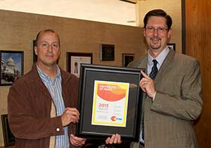 OSUIT Recognized as a Certified Healthy Campus and Business Wednesday, February 19, 2014