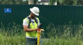 Pipeline Integrity Technology student Aaron Holderness