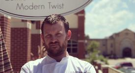 Theron Jessop, OSUIT alum and executive chef at Springs at teh Artesian, will be the second guest chef in the Cowboy Chef's Table luncheon series.