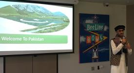 Haresh Kumar is enrolled in OSUIT's Civil Engineering Technology program. He gave a presentation on his home country Pakistan as part of the UGRAD program.